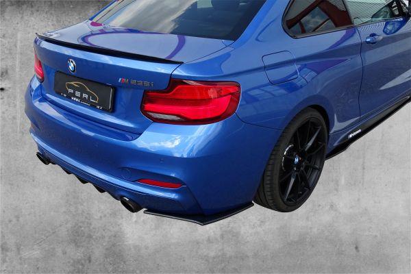 Carbonansatz Heckstoßstange für BMW 2er F22/23 235i / 240i (R/L)