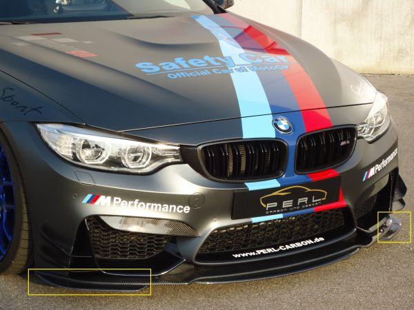 Carbon Frontseitenteil für BMW M3 F80, M4 F82/83 (R / L) zu Carbon-Schwert 20645PE