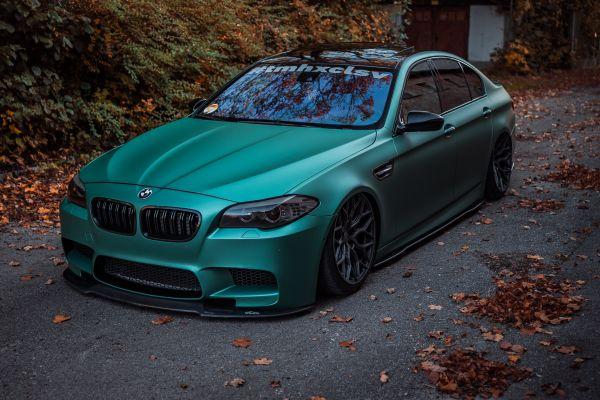 Carbon-Seitenschwelleransätze für BMW M5 F10