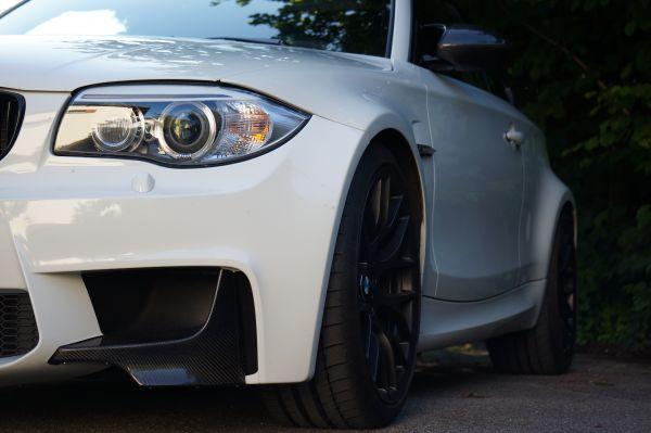 Carbonsplitter für BMW 1er M und Kerscher 1er M-Look Front