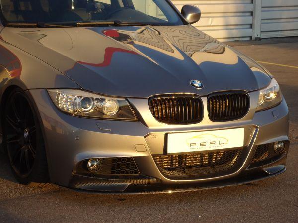 Carbon-Schwert für BMW 3er E90/91 LCI M-Paket mit verbauten Flaps