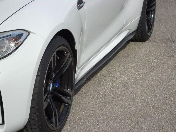 Carbon Seitenschwelleransatz für BMW M2 F87 (R/L)