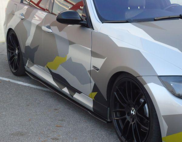 Carbon Seitenschwelleransatz (R/L) für BMW E90/91