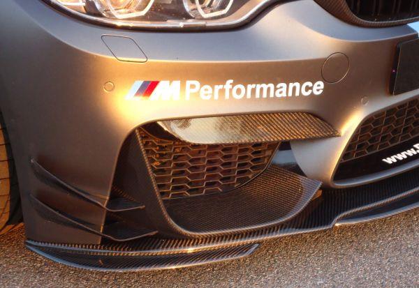"Carbon Front Wings / Canards ""DTM-Style"" für BMW M3 F80, M4 F82/83"