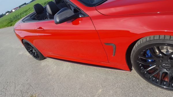 Carbon Seitenschwelleransatz (R/L) für BMW F32/33/36