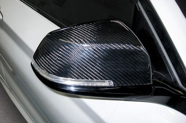 Carbon-Spiegelkappen für BMW 1er F20/21, F22, F30/31, F32/33/36
