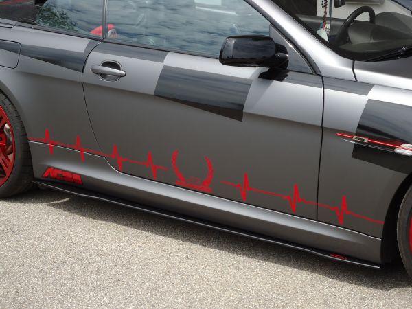 Carbon Seitenschwelleransatz für BMW 6er E63 und E64 (R/L)