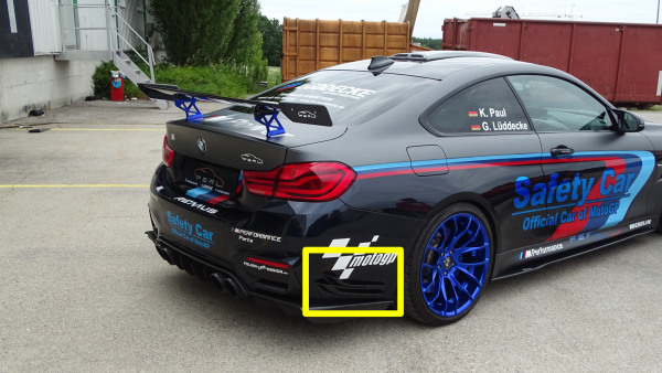Carbon Rear Wings für BMW M4 F82/83
