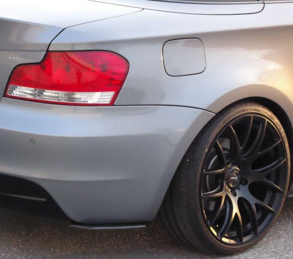 Carbonansatz Heckstoßstange für BMW E82/88 (R/L)