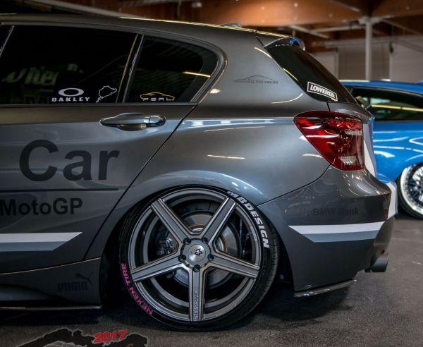 Carbonansatz Heckstoßstange für BMW F20/21 VFL (R/L)