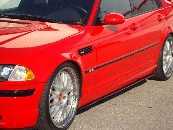 Carbon Seitenschwelleransatz für BMW E46 M2-Sportpaket (R/L)