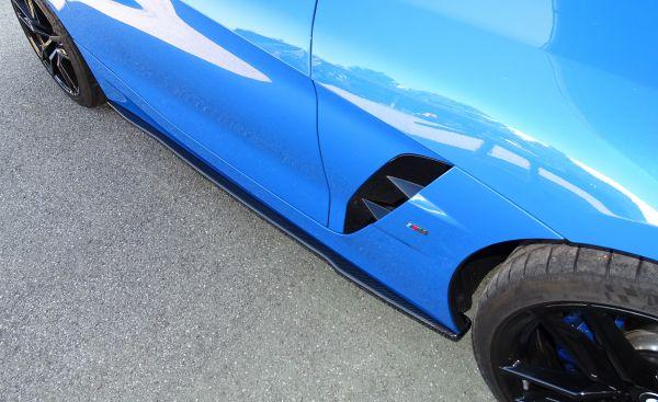 Carbon Seitenschwelleransatz (R/L) für BMW Z4 G29 (geschwungene Variante)