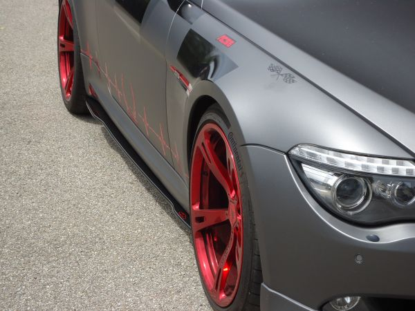 Carbon Seitenschwelleransatz für BMW 6er E63/64 (R/L)