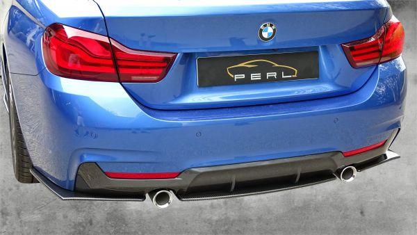 Carbonansatz Heckstoßstange für BMW 4er F32/33/36 435i / 440i (R/L)